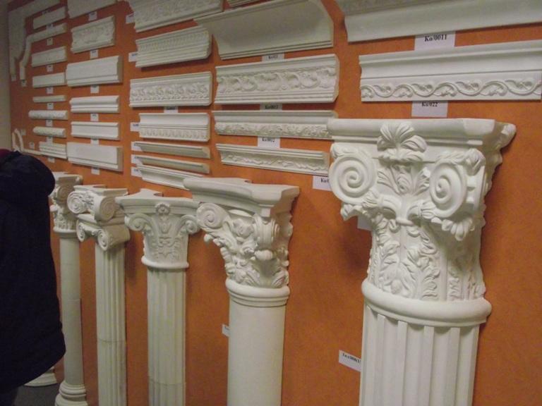 Изготовление декоративных колонн своими руками
