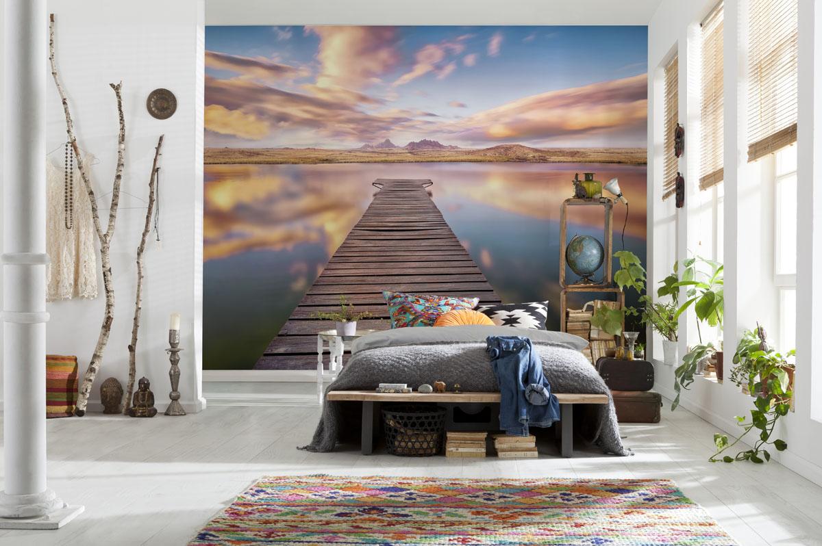 Дизайн интерьера с помощью фотообоев