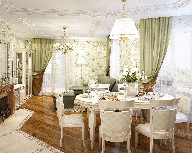 Дизайн интерьера квартиры в французском стиле