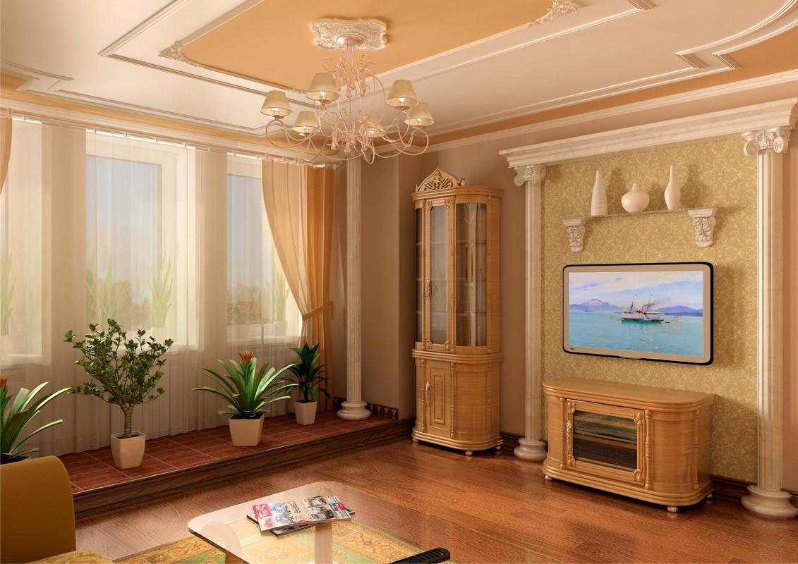 Декорирование квартиры лепниной из пенопласта