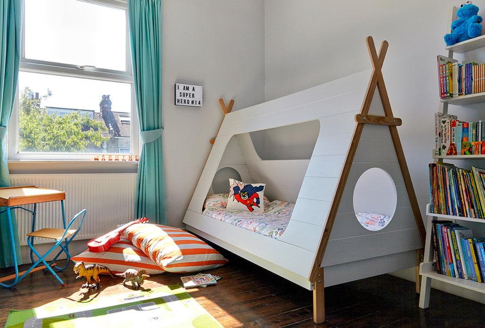 Интересные решения детской кровати
