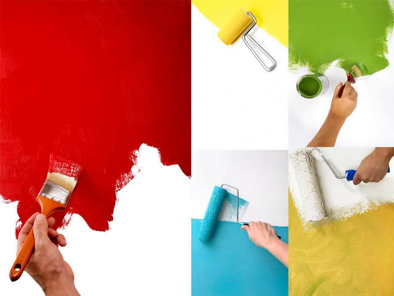Мир в новом цвете: выбираем лаки и краски для отделочных малярных работ