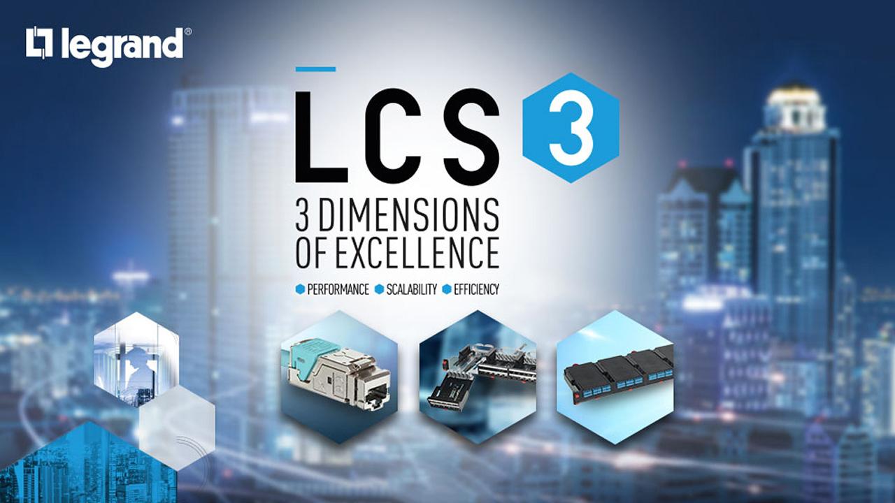 LCS3 – новая система Legrand VDI