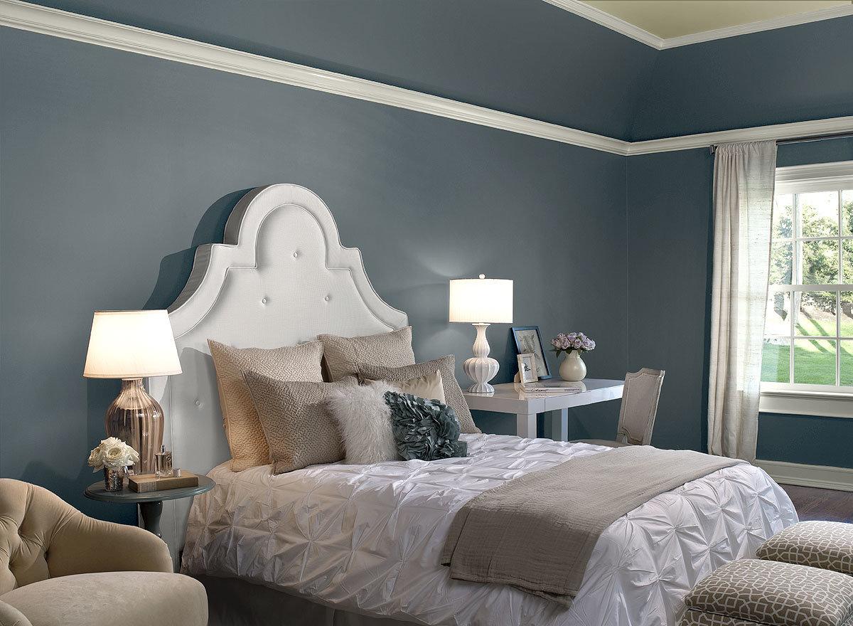 Какой цвет краски выбрать для спальни