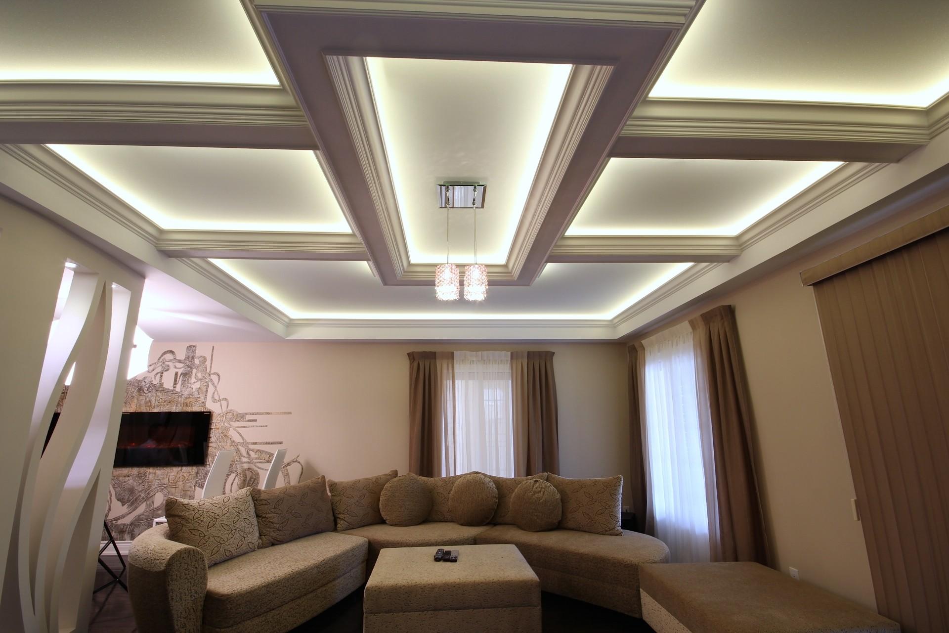 Советы по ремонту квартир от АСК Триан: Гипсокартонный подвесной потолок