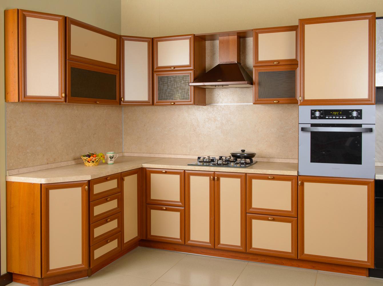 Мебельные фасады для кухни и их разновидности